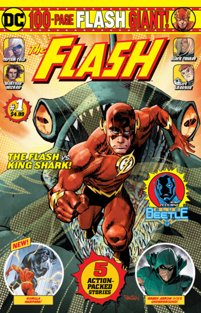 The Flash 100-Page Giant