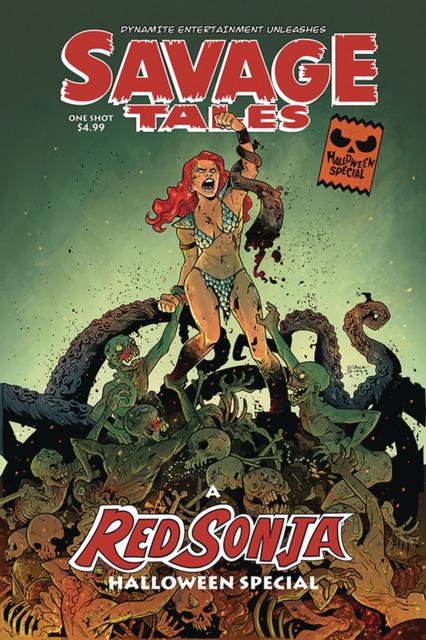 Savage Tales Red Sonja