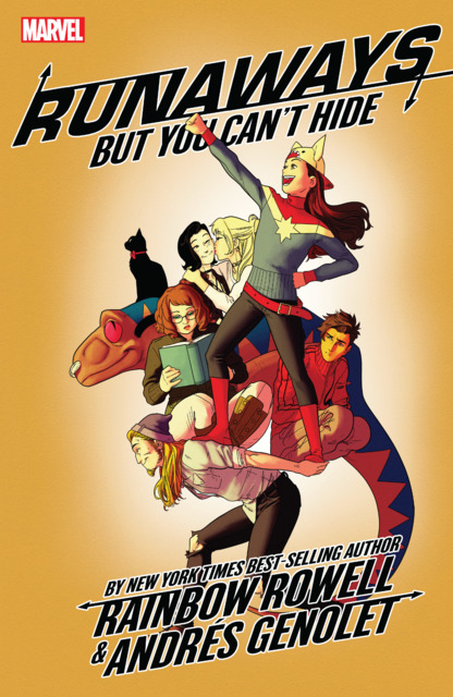 Runaways by Rainbow Rowell: But You Can't Hide