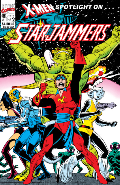X-Men Spotlight on... Starjammers
