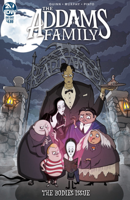Addams Family: The Bodies Issue One-Shot