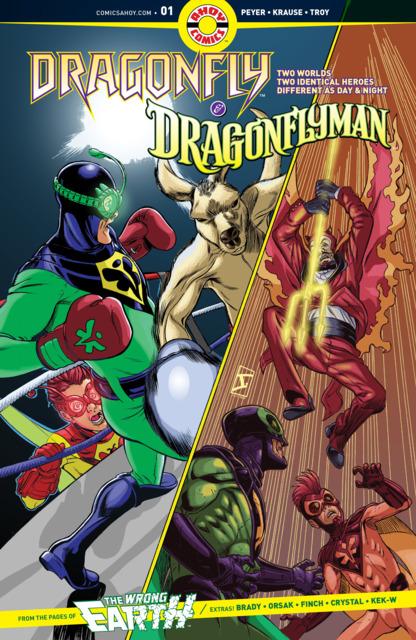 Dragonfly & Dragonflyman