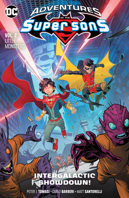 Adventures of the Super Sons: Little Monsters