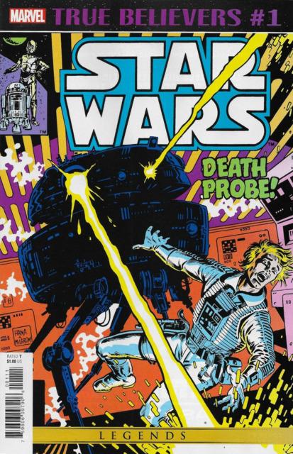True Believers: Star Wars: Death Probe!
