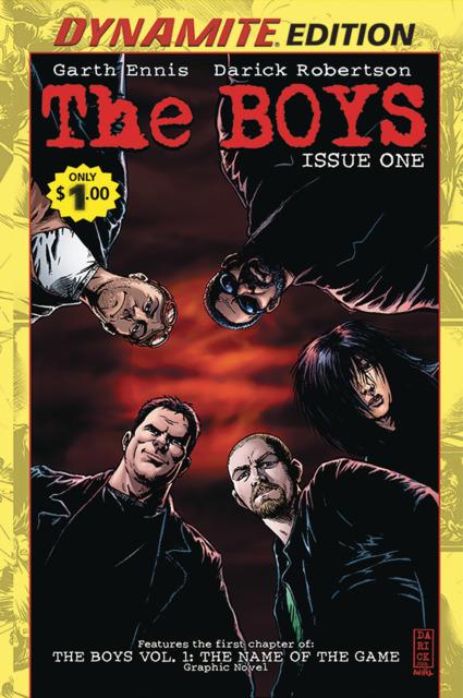 The Boys #1: Dynamite Edition