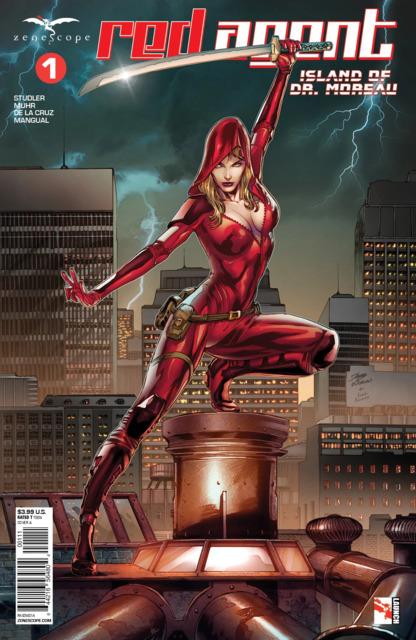 Red Agent: Island of Dr. Moreau