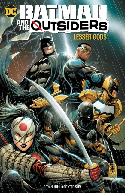 Batman and the Outsiders: Lesser Gods