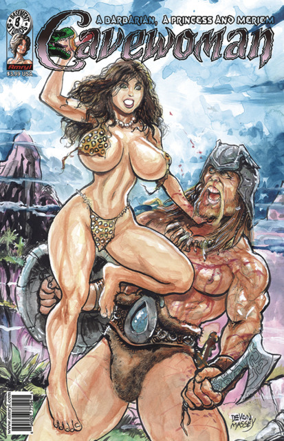 Cavewoman: A Barbarian, A Princess and Meriem