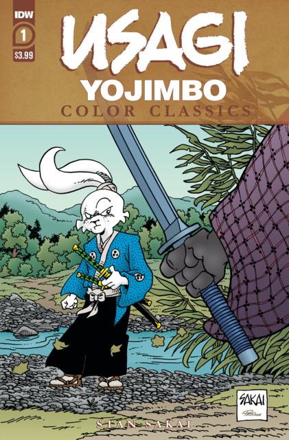 Usagi Yojimbo Color Classics