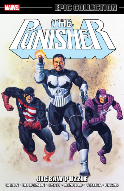 The Punisher Epic Collection: Jigsaw Puzzle