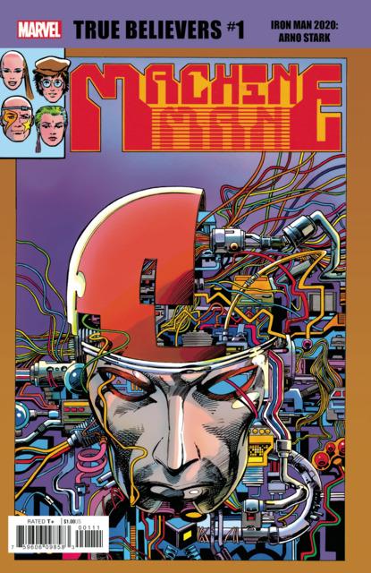 True Believers: Iron Man 2020: Arno Stark