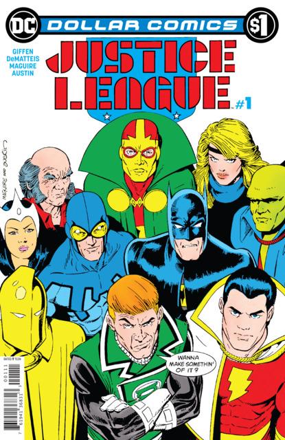 Dollar Comics: Justice League #1
