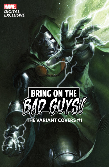 Bring On The Bad Guys!: The Variant Covers