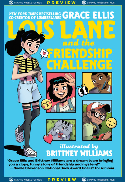 DC Graphic Novels for Kids Sneak Peeks: Lois Lane and the Friendship Challenge