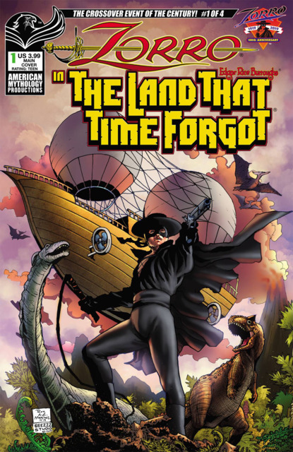 Zorro In the Land That Time Forgot