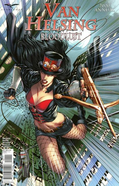 Van Helsing 2020 Annual: Bloodlust