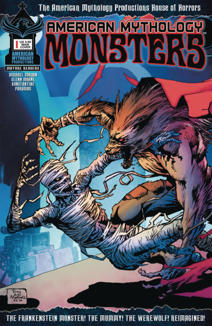 American Mythology Monsters