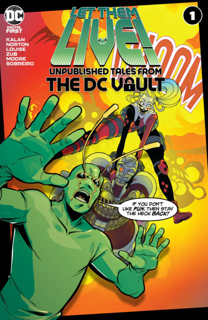 Let Them Live!: Unpublished Tales From the DC Vault