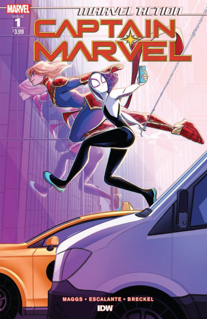 Marvel Action: Captain Marvel
