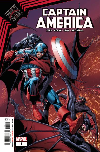 King In Black: Captain America
