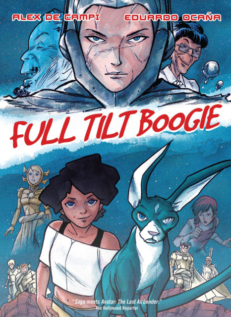 2000 AD Regened Presents: Full Tilt Boogie