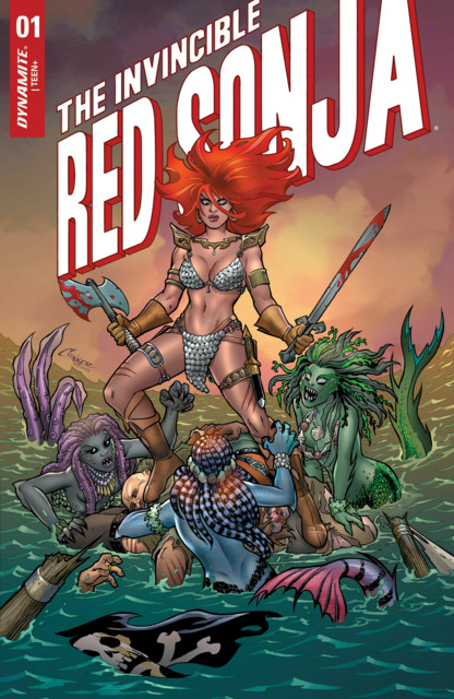 The Invincible Red Sonja