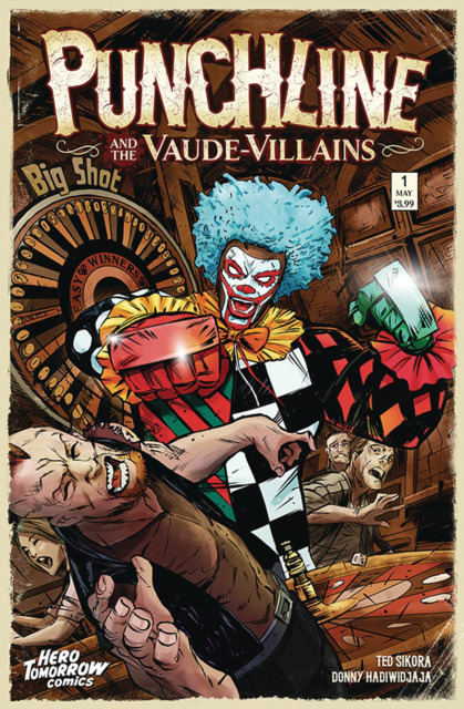 Punchline and the Vaude-Villains