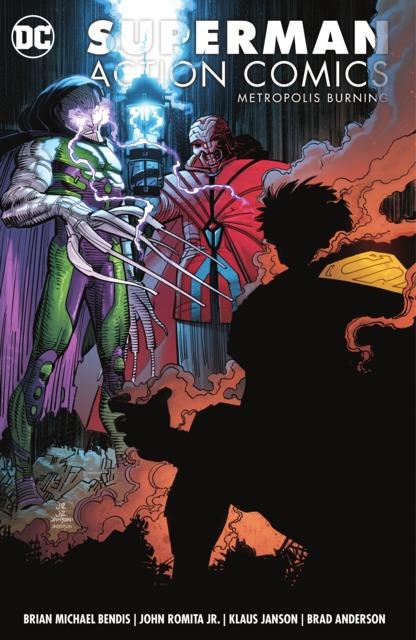 Superman: Action Comics: Metropolis Burning