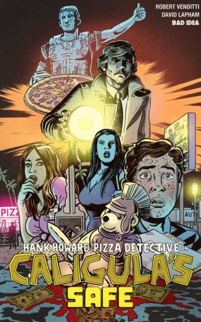 Hank Howard Pizza Detective In Caligula's Safe