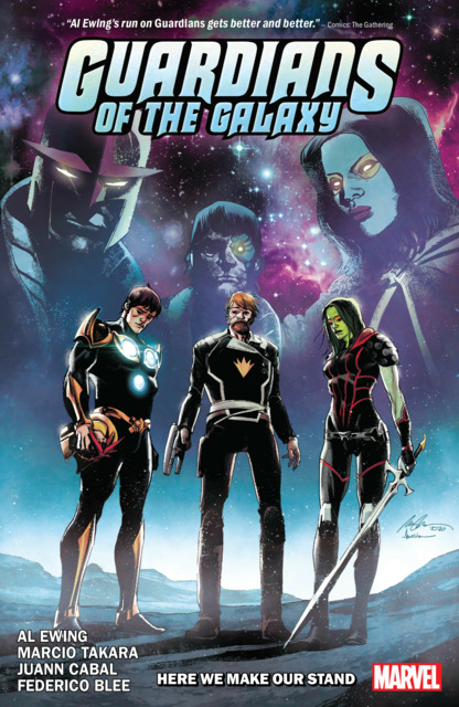 Guardians of the Galaxy by Al Ewing: Here We Make Our Stand