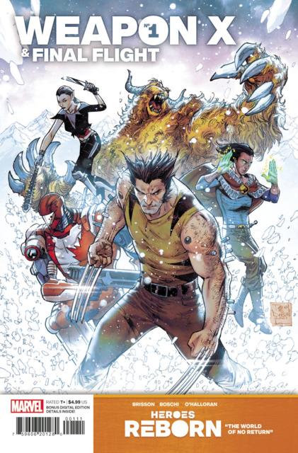 Heroes Reborn: Weapon X & Final Flight
