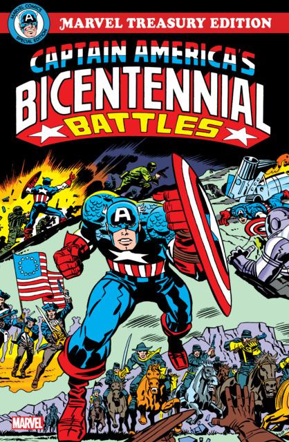 Captain America's Bicentennial Battles Treasury Edition