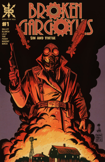 Broken Gargoyles: Sin and Virtue