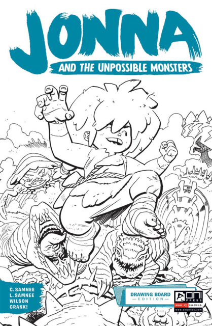 Jonna and the Unpossible Monsters: Drawing Board Edition