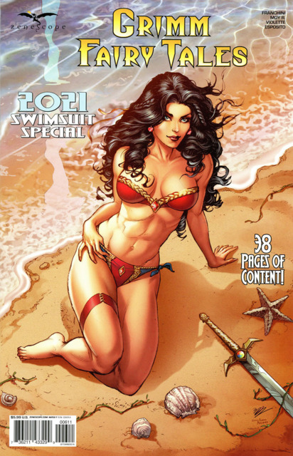 Grimm Fairy Tales 2021 Swimsuit Special