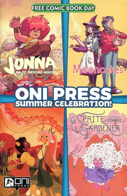 Oni Press Summer Celebration Free Comic Book Day 2021