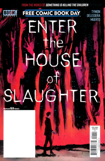Enter the House of Slaughter Free Comic Book Day 2021
