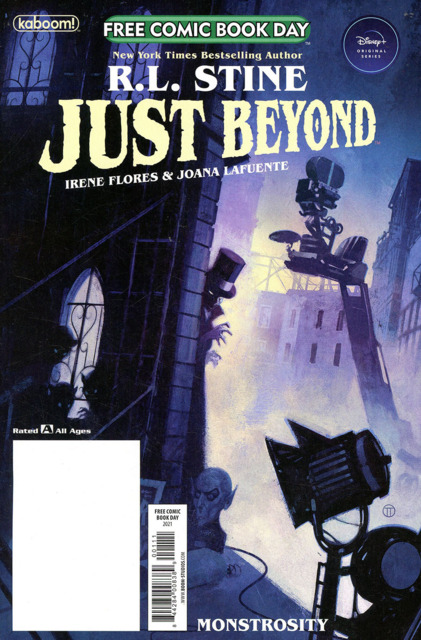 Just Beyond: Monstrosity Free Comic Book Day Special 2021