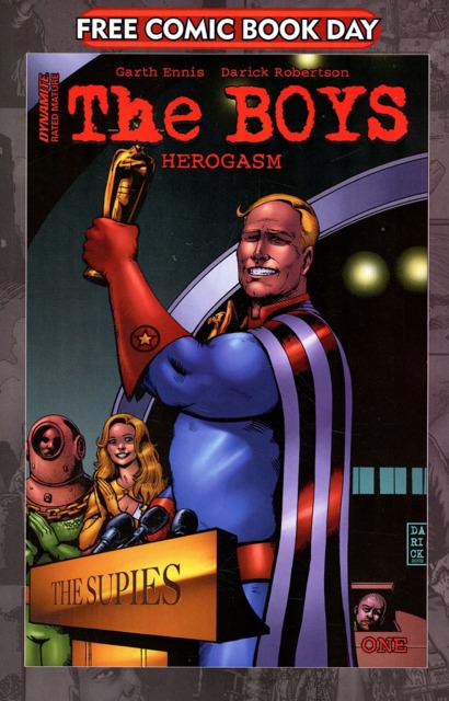 The Boys: Herogasm #1, FCBD