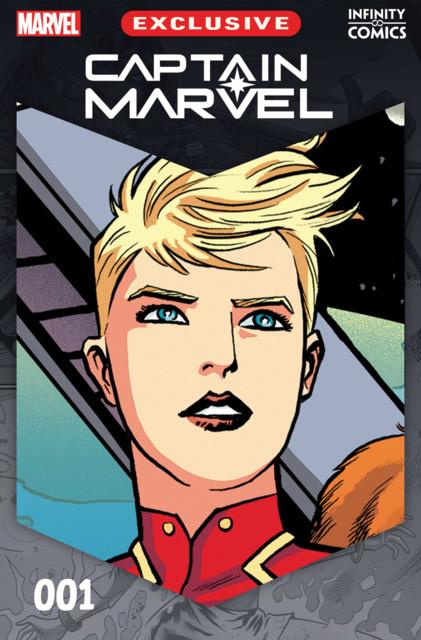 Captain Marvel Infinity Comic Primer