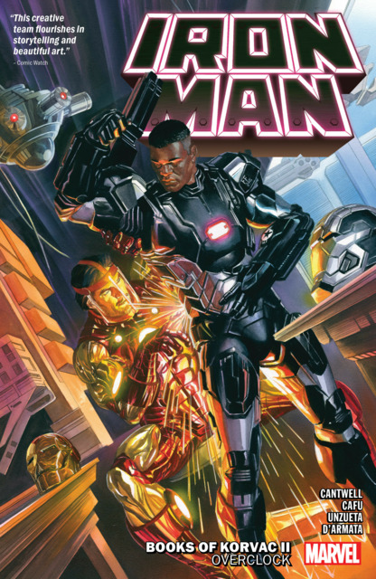Iron Man: Books of Korvac II: Overclock