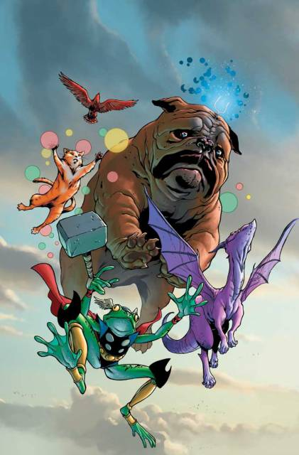 Throg and The Pet Avengers