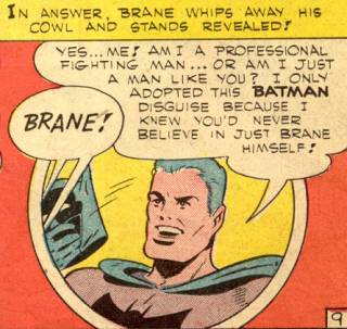 Brane in his first appearance