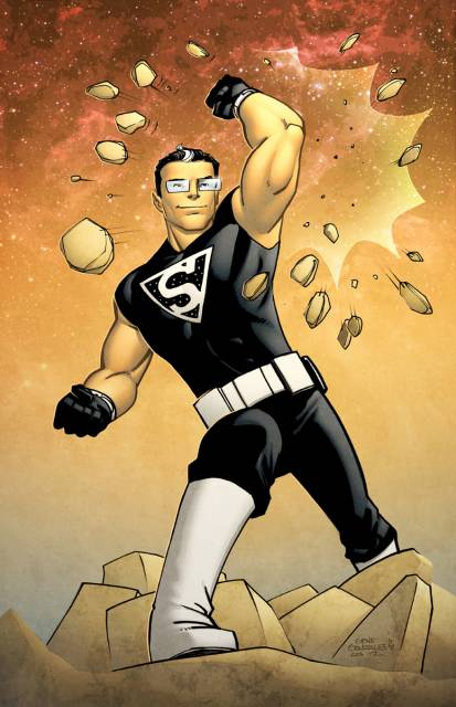 Kent Shakespeare as the Superman of the 31st Century