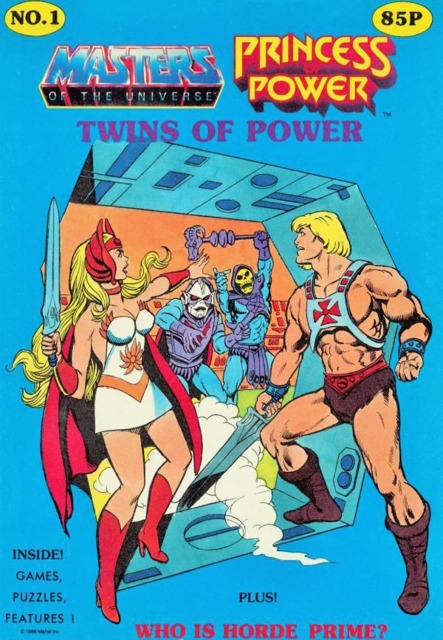 Masters of the Universe/Princess of Power: Twins of Power