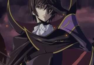 Lelouch about to use Geass on Cornelia