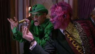 Riddler and Two-Face in Batman Forever