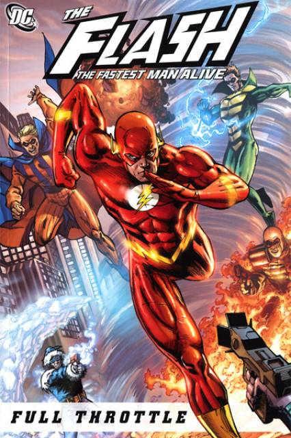 The Flash: The Fastest Man Alive: Full Throttle