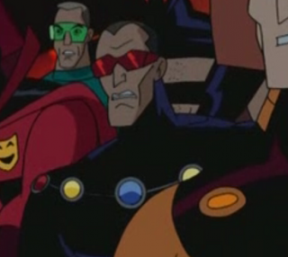 Doctor Spectro in Justice League Unlimited.