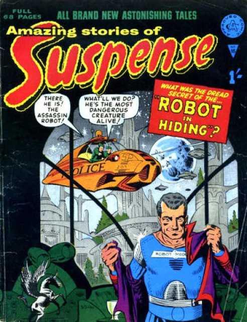 Amazing Stories of Suspense